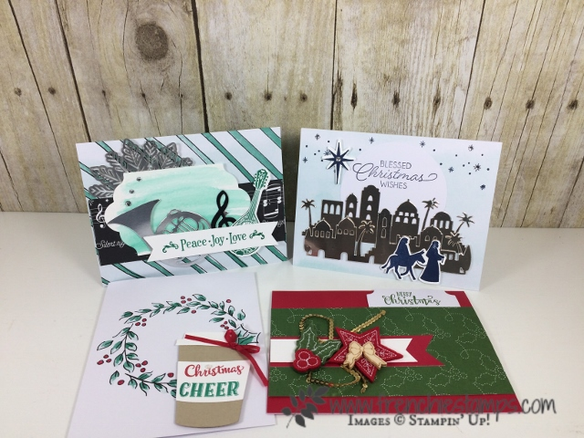 Watercolor Christmas Project, Musical Season, Night in Bethlehem, Foil Snowflakes