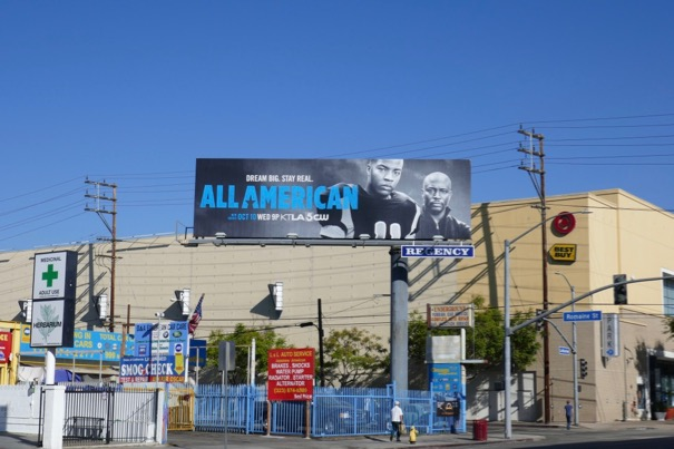 All American season 1 billboard