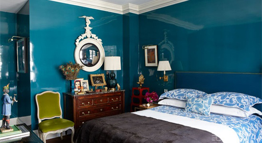 Thom Filicia In Elle Decor Love His Work Bold Yet Warm And Livable