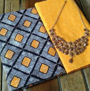 Kain Batik dan Embos 482 Kuning