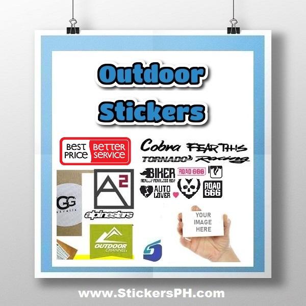 Custom Outdoor Stickers