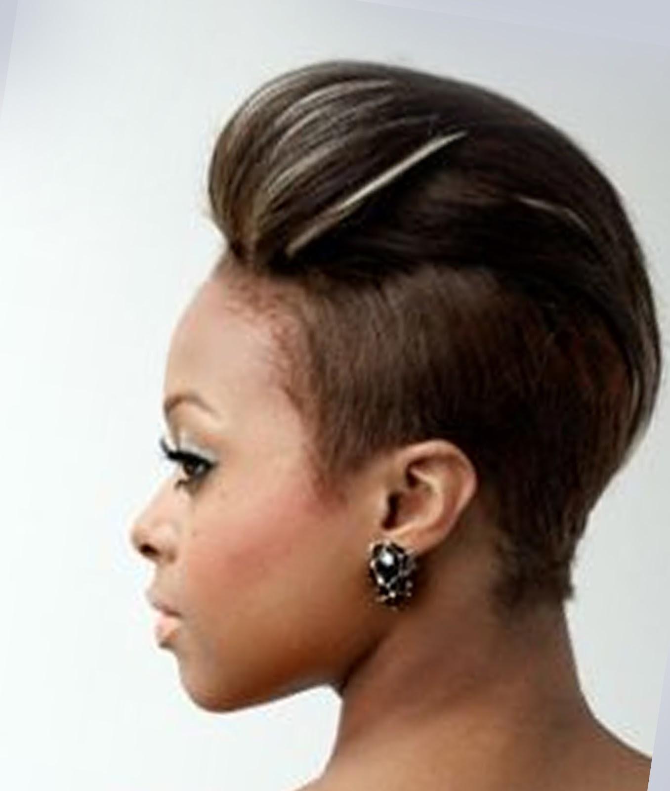 Cool Mohawk Styles For Black Women 2016 Hairstyles Spot Hairstyles For Women Draintrainus