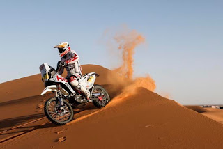 Joaquim Rodrigues at the Merzouga Rally 2017