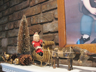 Large Clay Face Santa with