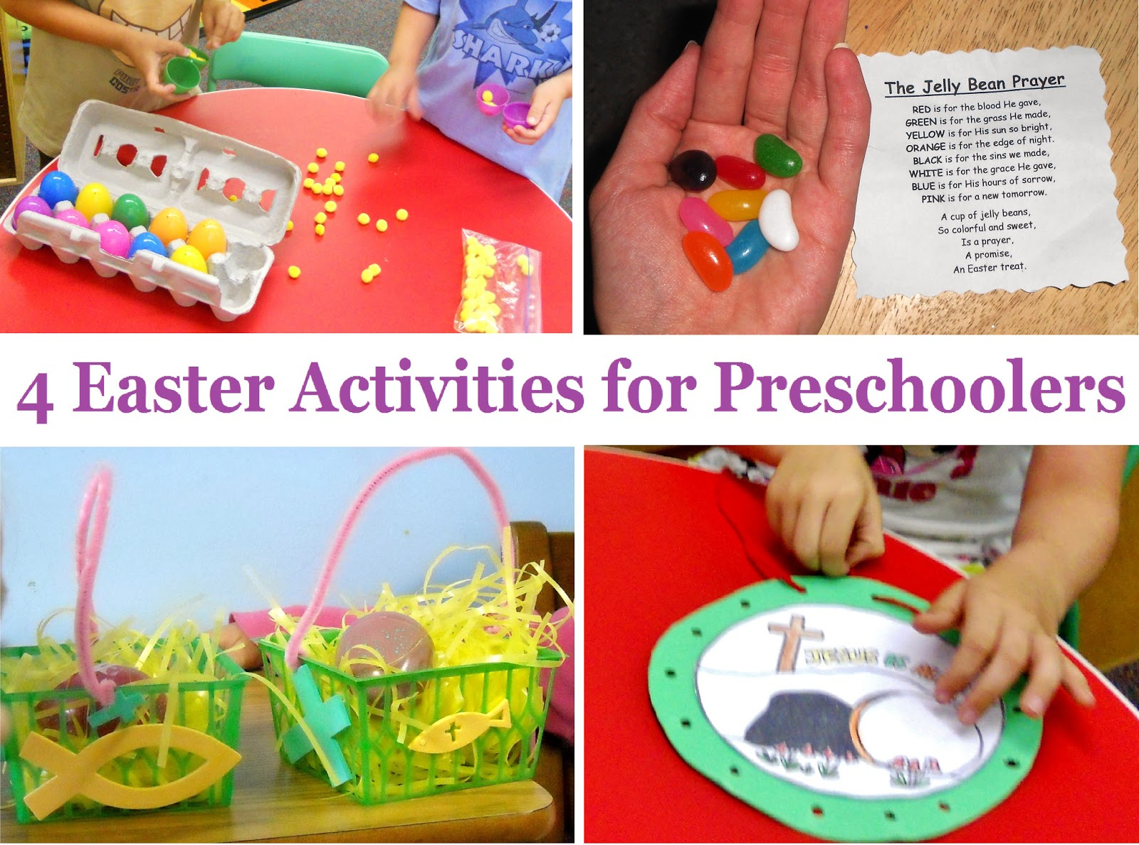 Princesses Pies Amp Preschool Pizzazz 4 More Easter Activities For Preschoolers