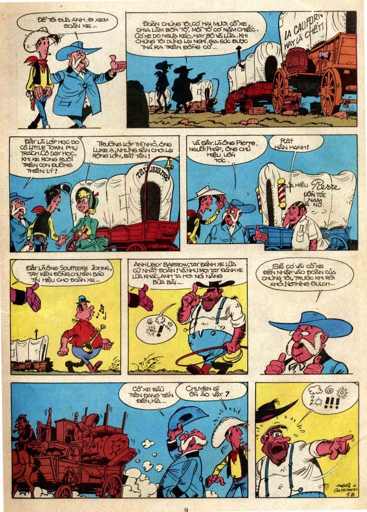 Lucky Luke tap 3 - doan lu hanh trang 5