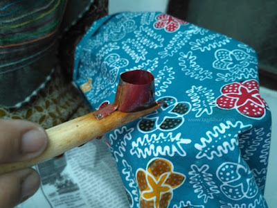 Pembuatan Batik Desa Wisata Malangan