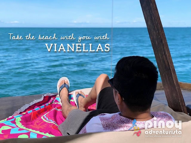 Take the Beach with you with VIANELLAS