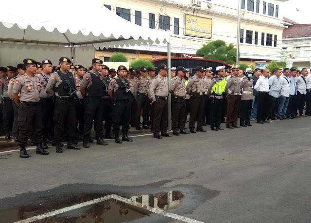 Polres Turunkan 165 Personel Kawal Kunjungan Sandi di Gowa