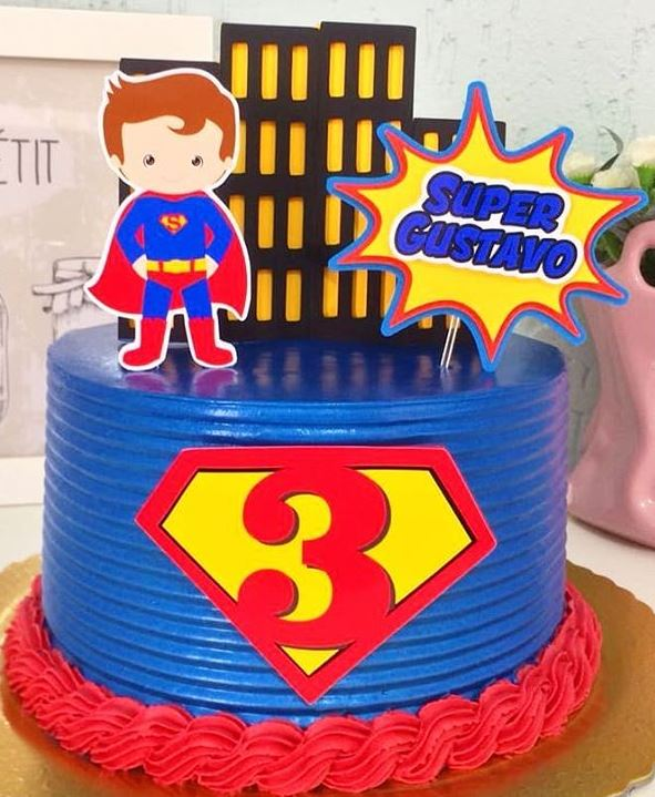 Superman Free Printable Cake Toppers From Famf Tags Birthday Printables Justice League