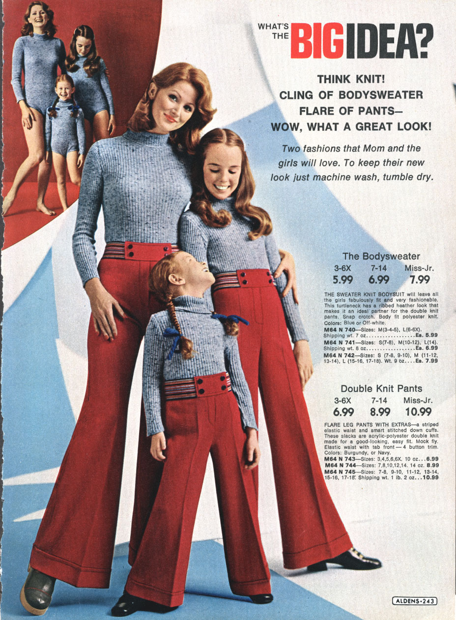 Chick Slacks Of 70s Style Vintage Everyday