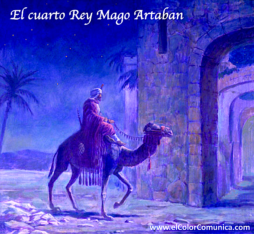 EL COLOR COMUNICA: Tres Magos de Oriente 6 de enero Día de Reyes Magos