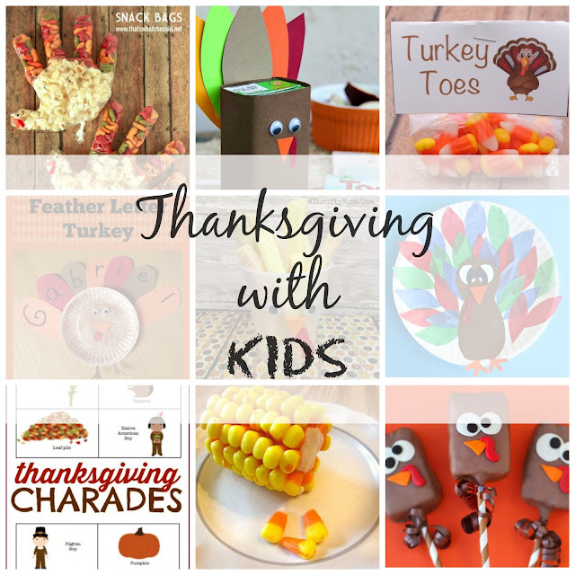 Family and the Lake House - Thanksgiving with Kids - Activities, Crafts, Recipes