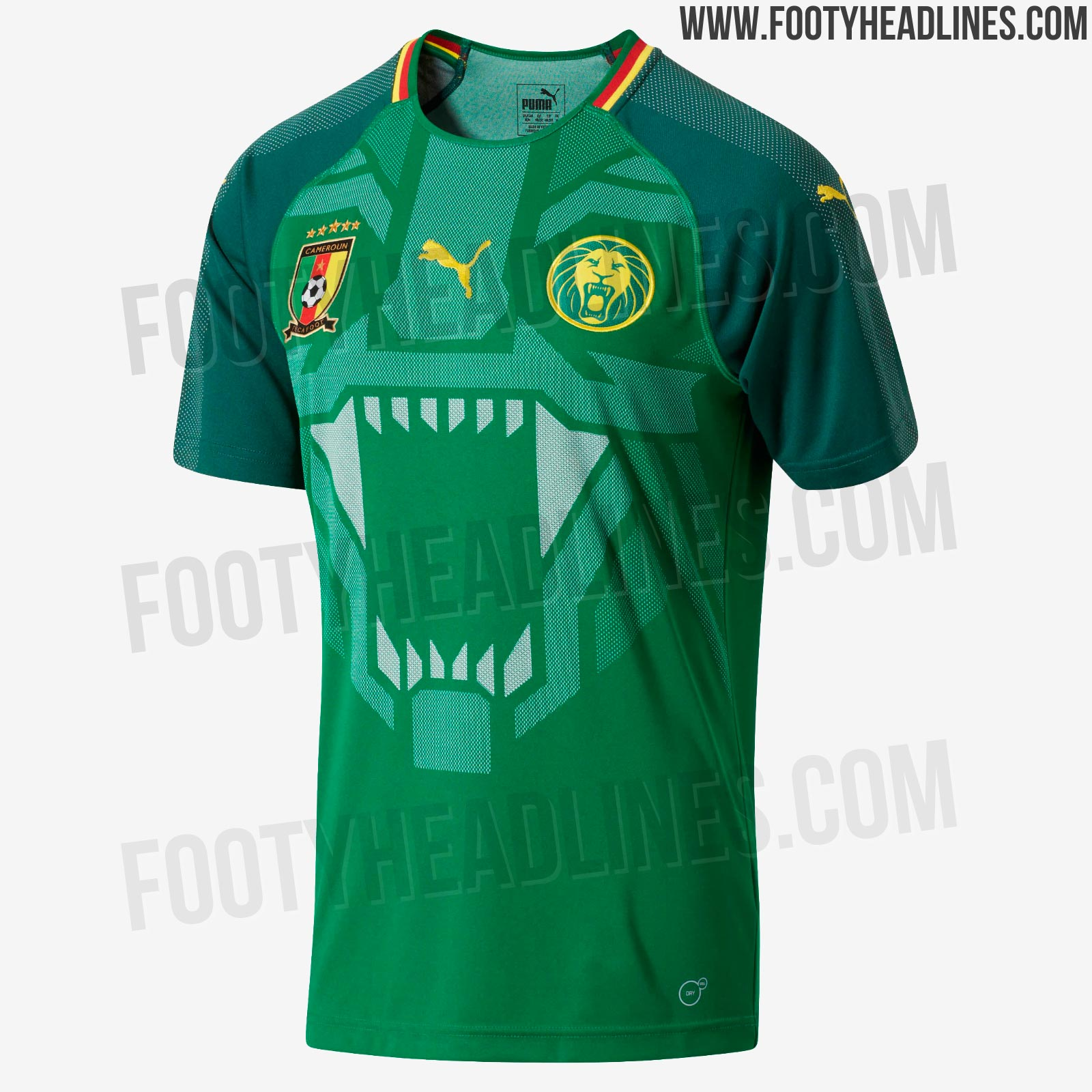 Cameroon World Cup 2018 Jersey