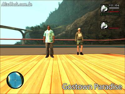 gta sa gostown paradise tc mod jogar coop 2 players jogadores no pc