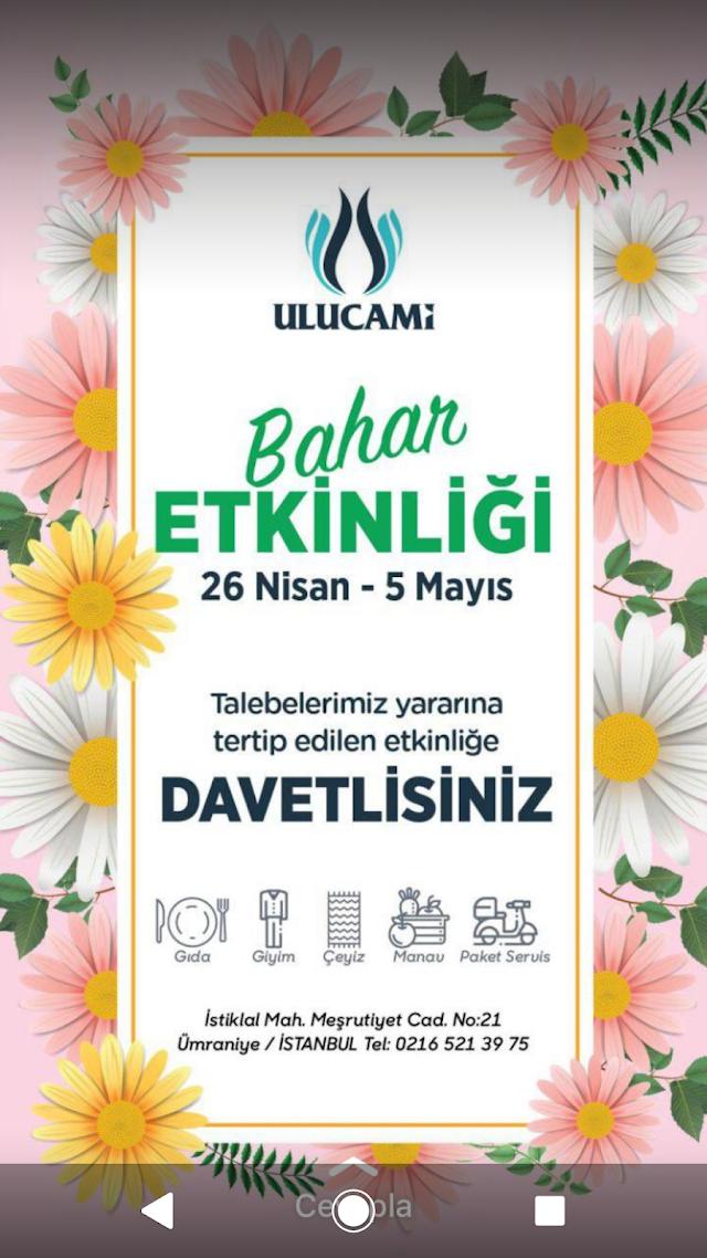 İstanbul Ümraniye Ulucami Kermesi