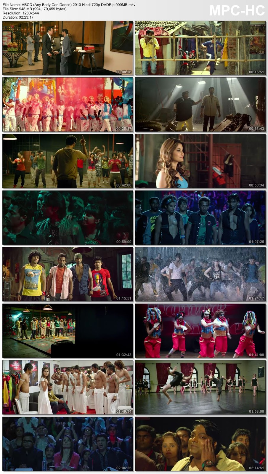 ABCD (Any Body Can Dance) 2013 Hindi 480p DVDRip 400MB