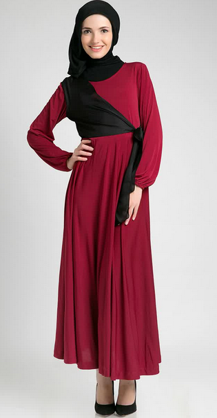 Desain Baju Dress Muslimah Gamis