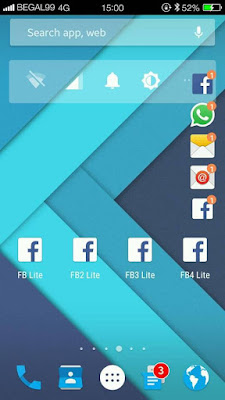 Screenshot Multi FB Lite