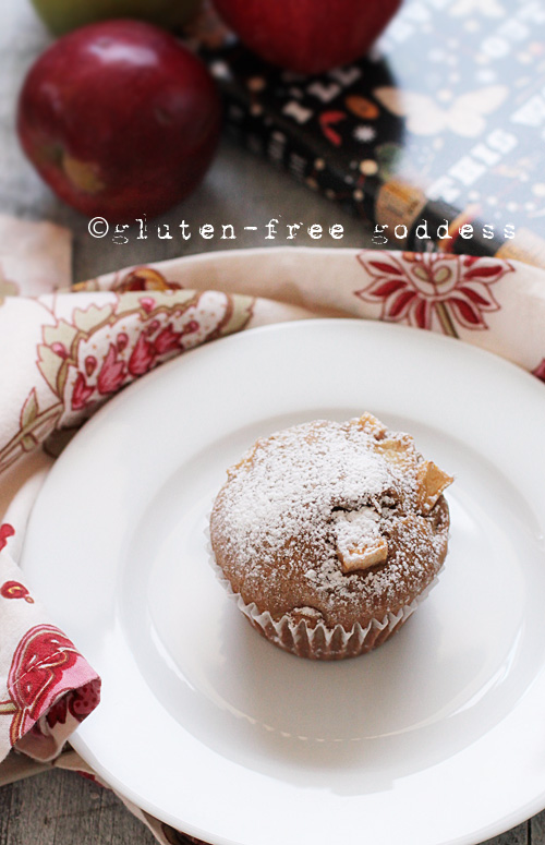 Gluten-Free Apple Cake Muffins - light and sweet