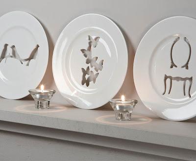 Diseños de platos decorativos