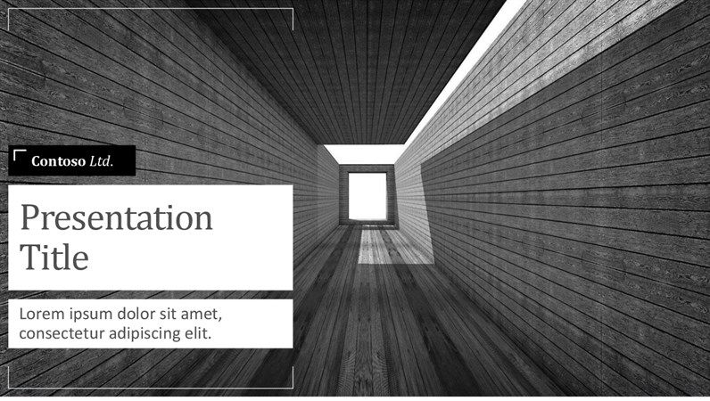 download template power point Architecture