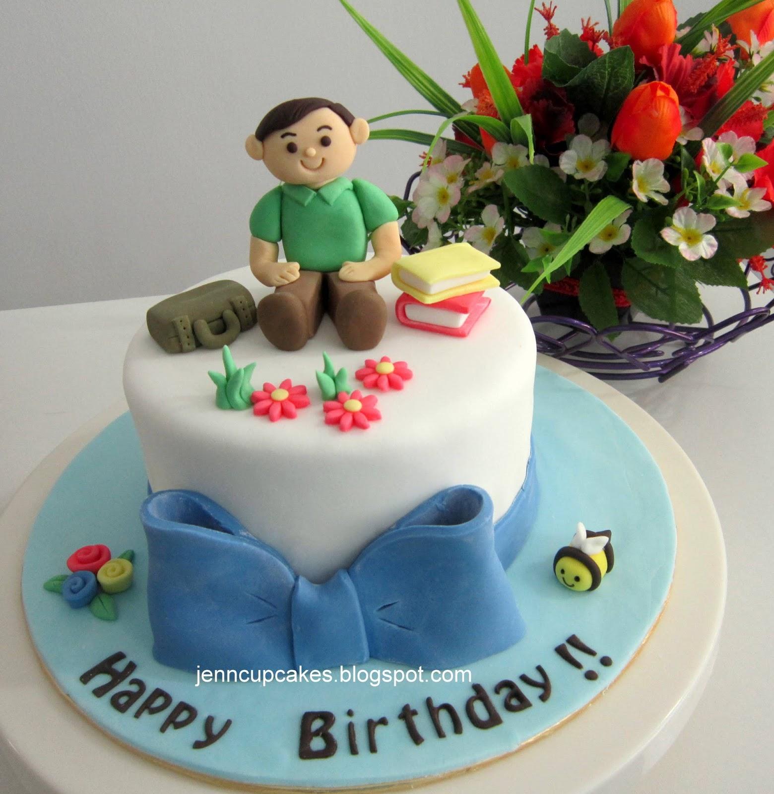 Cake Decorating Class Kl : Jenn Cupcakes & Muffins: One to One Basic Fondant Cake ...