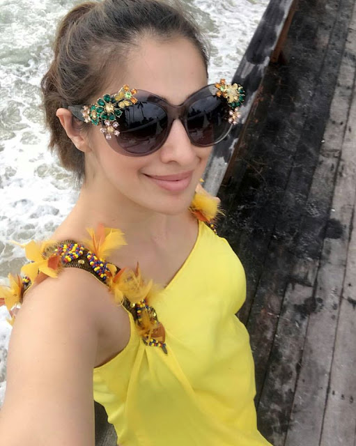 Actress Lakshmi Rai New year Celebrations