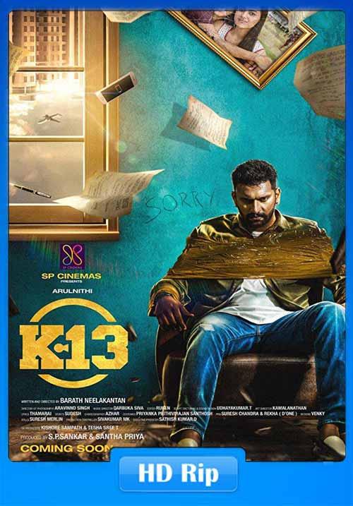K 13 2019 Tamil 720p HDRip ESub x264 | 480p 300MB | 100MB HEVC