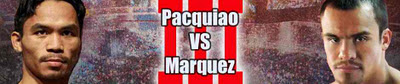 Pacquiao vs Marques poster