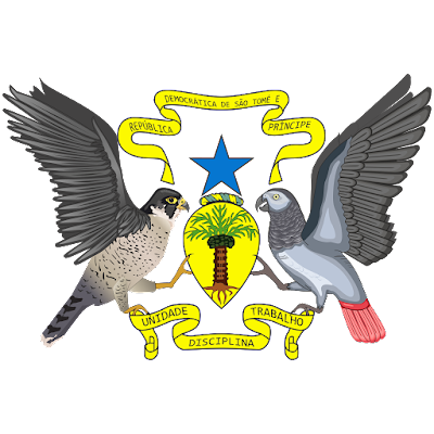 Coat of arms - Flags - Emblem - Logo Gambar Lambang, Simbol, Bendera Negara São Tomé dan Príncipe