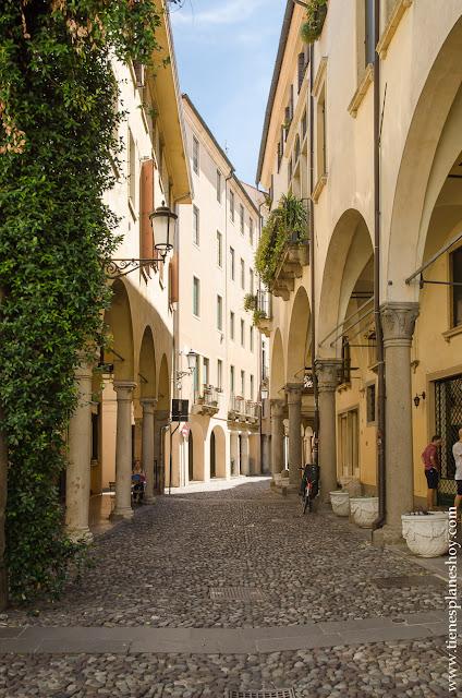 Barrio judio Ghetto Padua Padova Italia viaje 15 dias