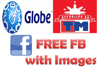 how to, FREE Facebook, with Enabled Images, Globe, TM, FREE