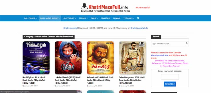 New south movie in hindi dubbed  download list