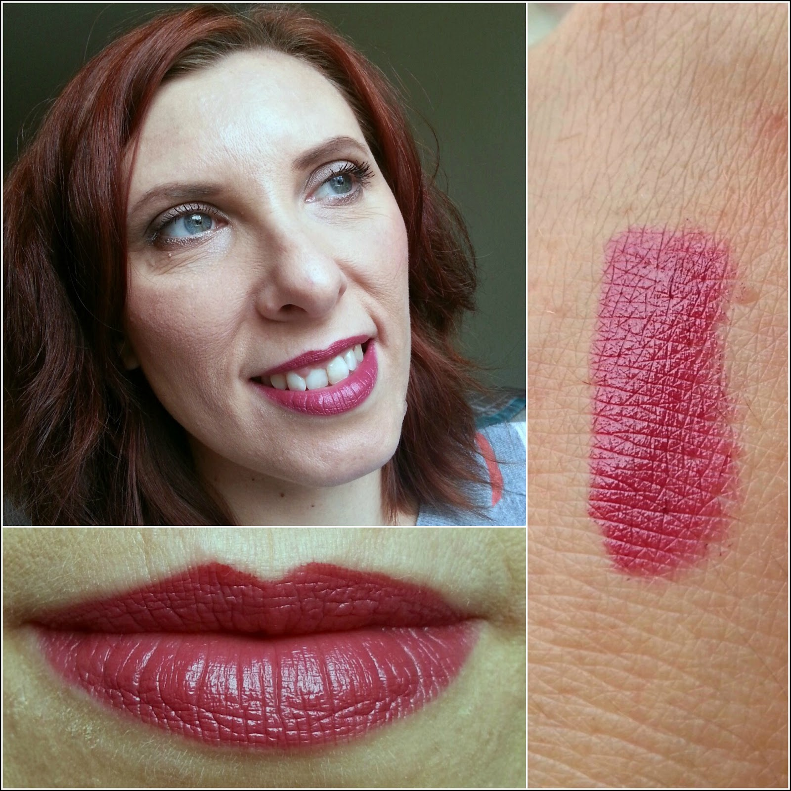maybelline intensive velvet lip pencil in keep it classy swatches