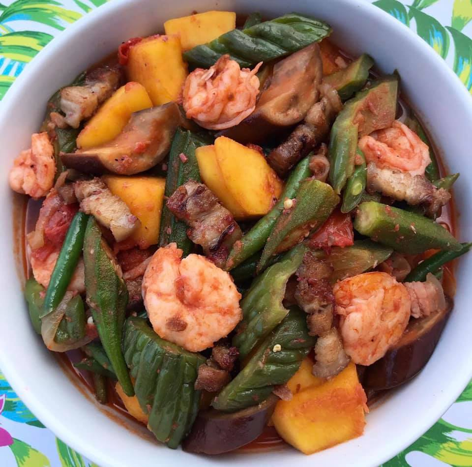 Pinakbet With Pork Shrimp And Bagoong