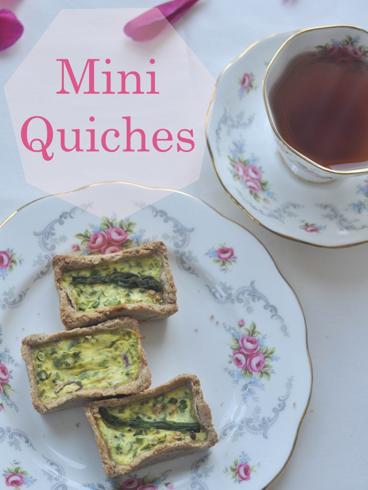 gluten free mini quiches, perfect for your summer party