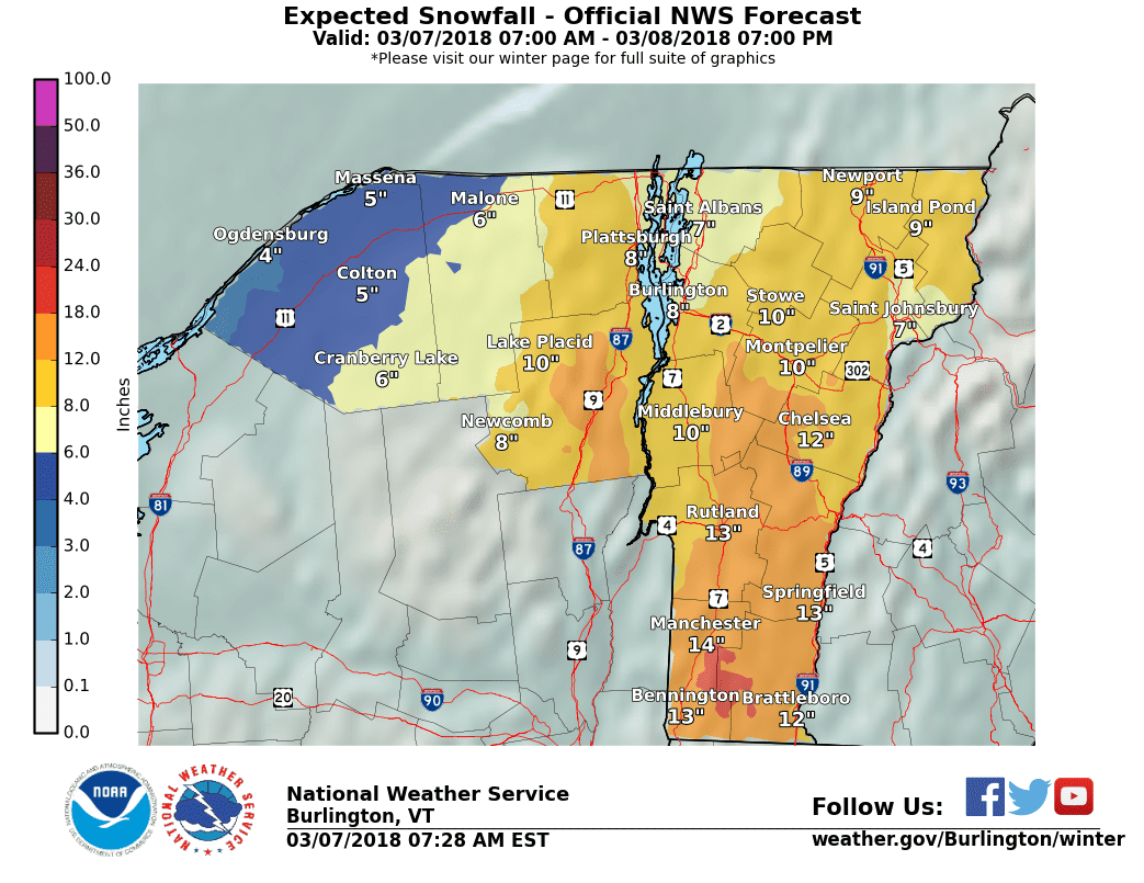nor easter snowstorm on today and tonight some fussy forecast changes