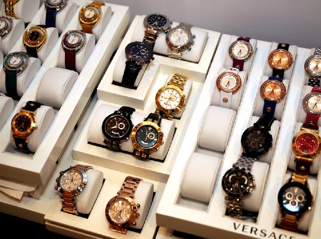 Onde comprar relógios em Las Vegas