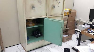 POLÍCIA MILITAR DE ILHA COMPRIDA PRENDE LADRÕES NA AGÊNCIA DOS CORREIOS