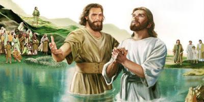 imagem do batismo do Senhor