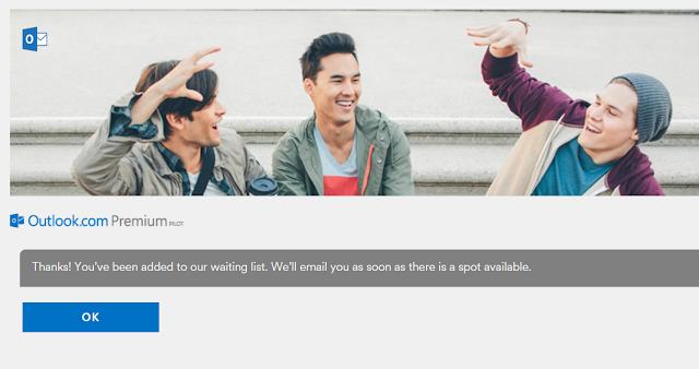 Ya puedes probar Outlook Premium sin invitación
