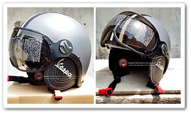 Model Helm Vespa Pilot Retro