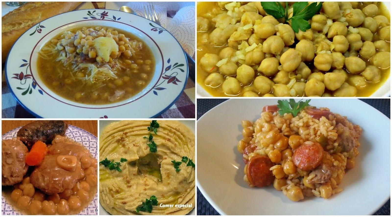 Cinco recetas con garbanzos cocinar en casa es for Cocinar garbanzos