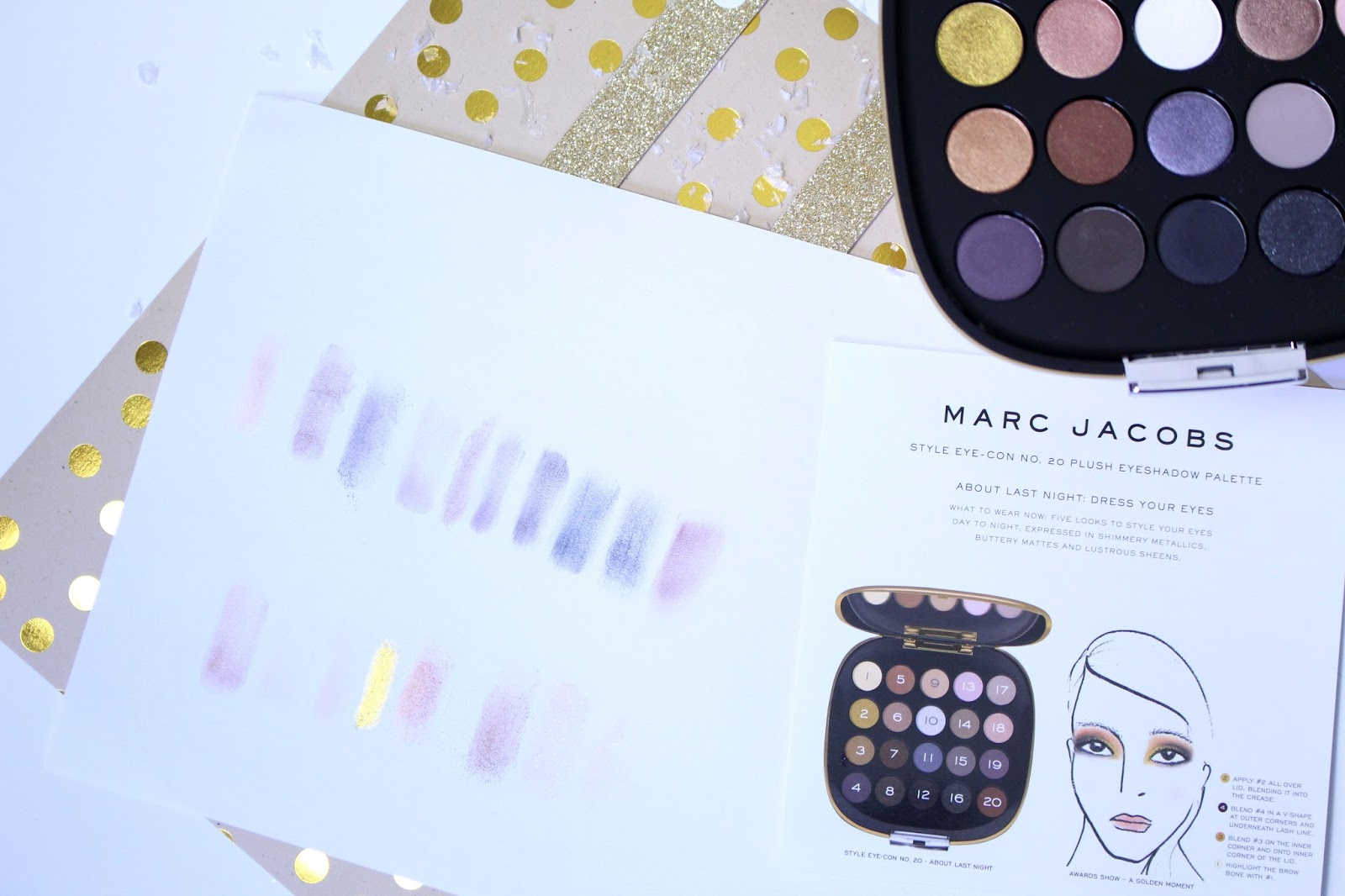 Palette Style Eye Con About Last Night Marc Jacobs