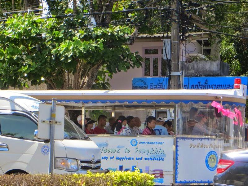 экскурсионный автобус Таиланд
