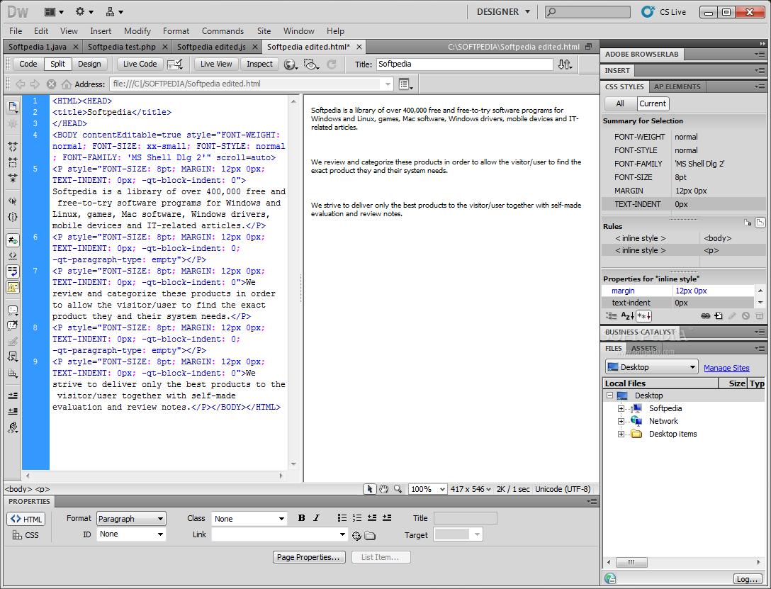 Dreamweaver cs5 lite portable free download   Photoshop CS6