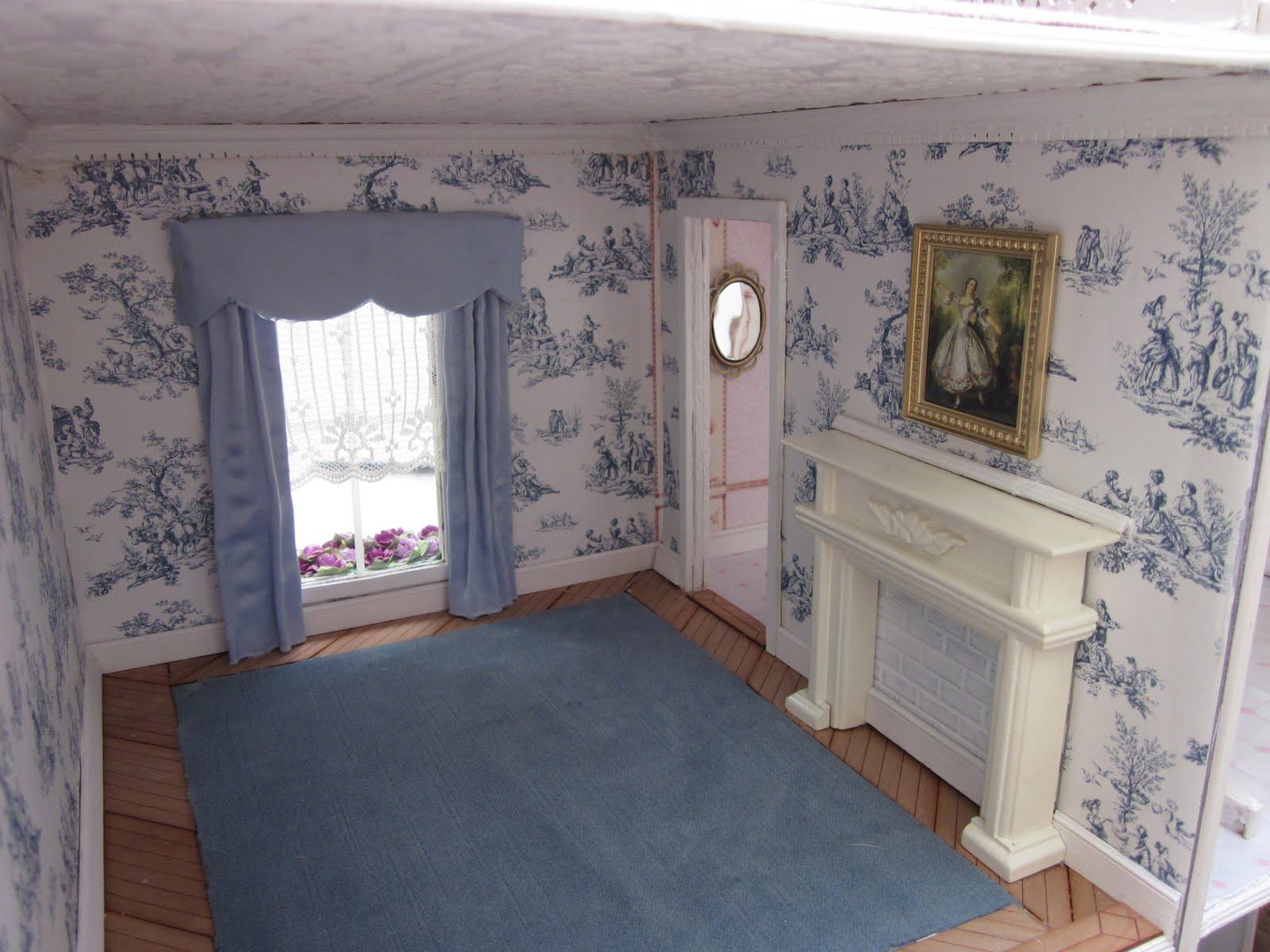 Cut Baby Girl Wallpaper La Grande Maison The Greenleaf Garfield Dollhouse