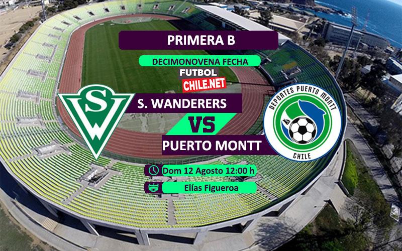 Santiago Wanderers vs Deportes Puerto Montt en vivo y online por la Primera B de Chile