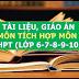 Kho tài liệu, giáo án liên môn tích môn Toán lớp 6-7-8-9-10-11-12 cấp THCS-THPT